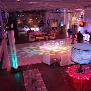 DesignLight epicenter bar mitzvah lighting and gobos