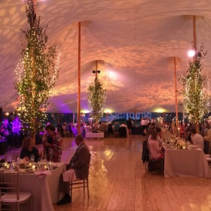 Designlight overhead tent lighting