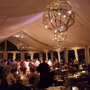 DesignLight Concord Mass wedding lighting