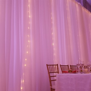 DesignLight worcester wedding gobos fabric and lighting