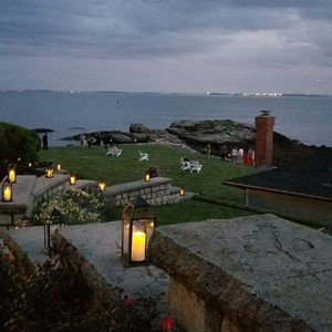 DesignLight Nahant birthday party lanterns on the water